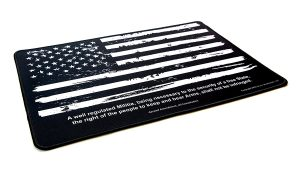 Top Gun Cleaning Mat Design