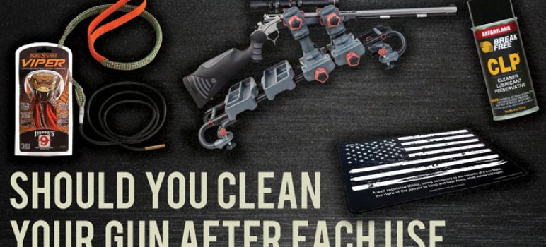 Should You Clean Your Gun After Each Use