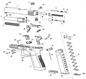 cleaning glock 17